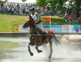 Ruy Fonseca and Idaho D'Argonne, LOCOG Greenwich Park Olympic Test Event, July 2011