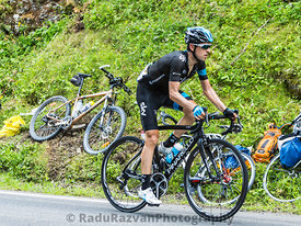 The Cyclist Mikel Nieve Iturralde