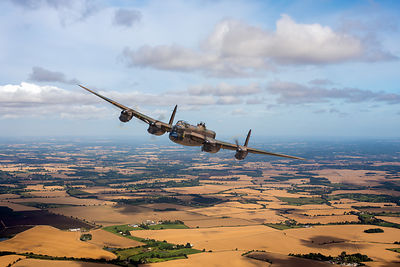 Home stretch: Lancaster over England