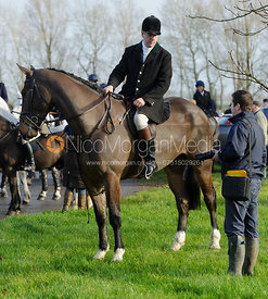 Andrew West at the meet in Morborne, 23/1