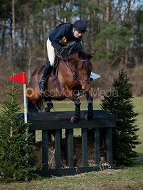 Nicola Chappel and Miss Emperor, Oasby Horse Trials 2011