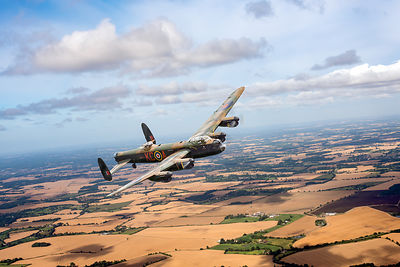 Lancaster PA474 over England