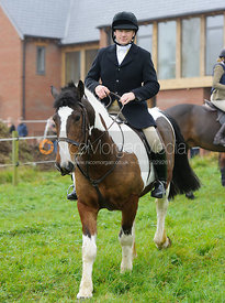 Henry Nicholson - The Cottesmore Hunt meet at Oak House, Tilton On The Hill, Saturday 31st October 2015.