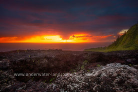 Sunrise at Grand Brulé - La reunion island