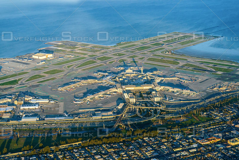 San Francisco SFO International Airport California