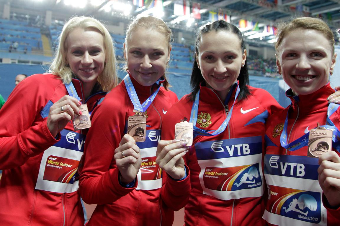 Russia Relay Team
