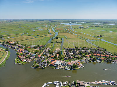 Oostknollendam with the Wormer and Jisperveld, ensemble Wormerland.