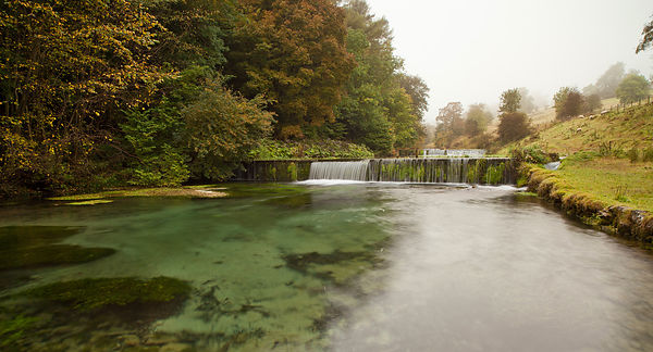 Clear waters of the river Lathkill
