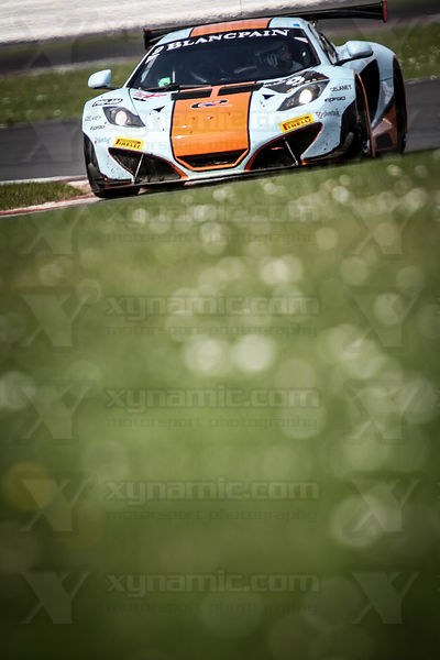 9 Mike Wainwright / Andy Meyrick / Gulf Racing McLaren MP4-12C
