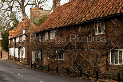 Old Houses in A Buckinghamshire Village