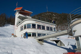 The Clubhouse of The Cresta Run of the SMTC Saint Moritz Tobogganing Club since 1884/85