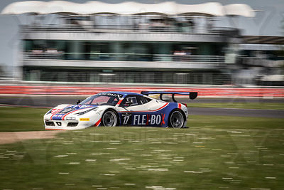 17 Dennis Andersen / Martin Jensen Insight Racing with Flex Box Ferrari 458 Italia