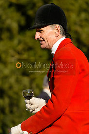 Joss Hanbury at the meet at Ingarsby Hall 27/10