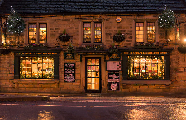 Day shift at the Old Bakewell Pudding shop