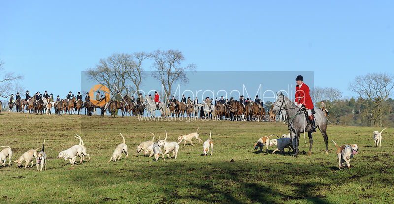 The Cottesmore Hunt at Burrough House 17/12 photos