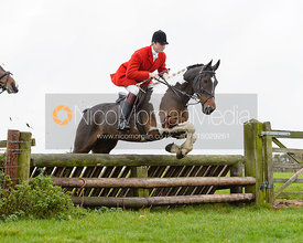 William Bell jumping a fence at Stone Lodge Farm