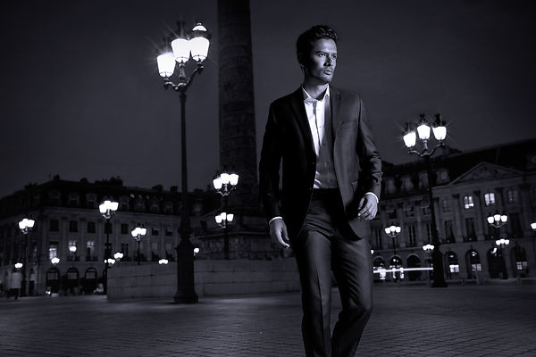 Fashion Photographer Men Suits in Paris