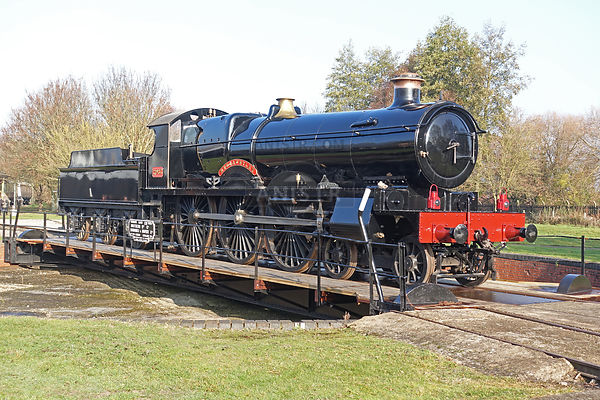 Steam loco new build Saint 2999 Didcot aka 2983