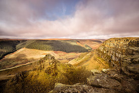 Alport Castles sunrise