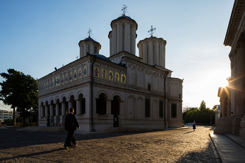 Exterior of Romanian Patriarchal Cathedral