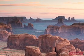 Sunrise at Hunt's Mesa, Monument Valley, Arizona, USA