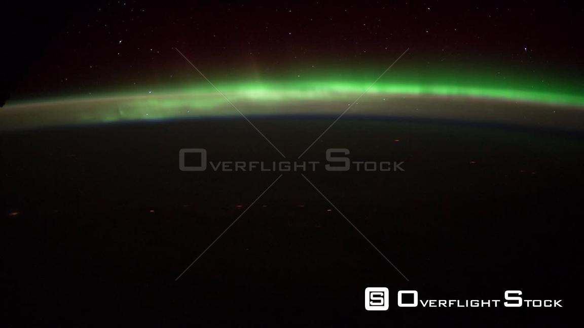 TimeLapse of Alaska Aurora Borealis 25 Jan 2012 from Space