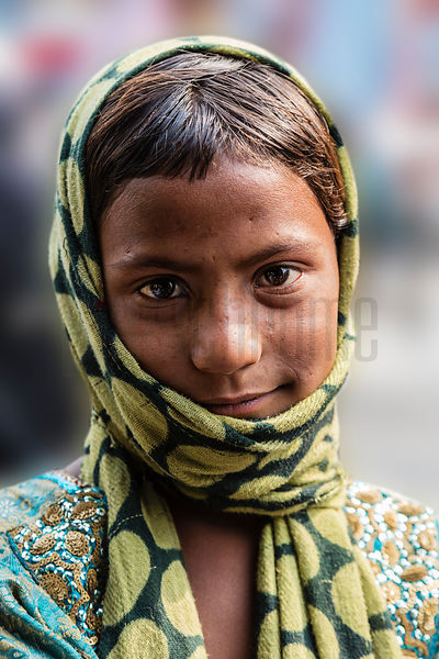 Portrait of a Street Child
