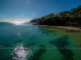 Pristine morning at Noosa Main Beach, Noosa QLD Australia