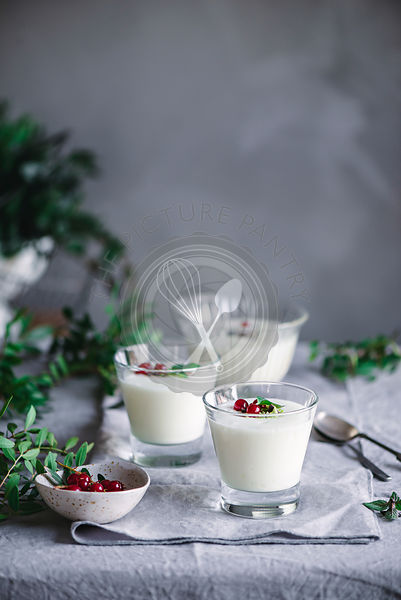 Home made lemon mousse