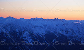 Leaning Towers Purcell Mountains BC
