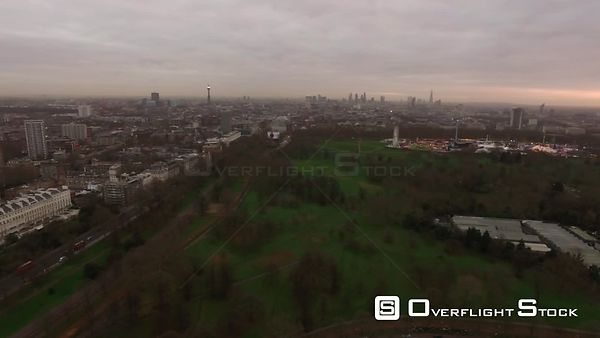 Drone Video Hyde Park London England