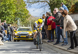 The Cyclist Victor Campenaerts - Paris-Nice 2016