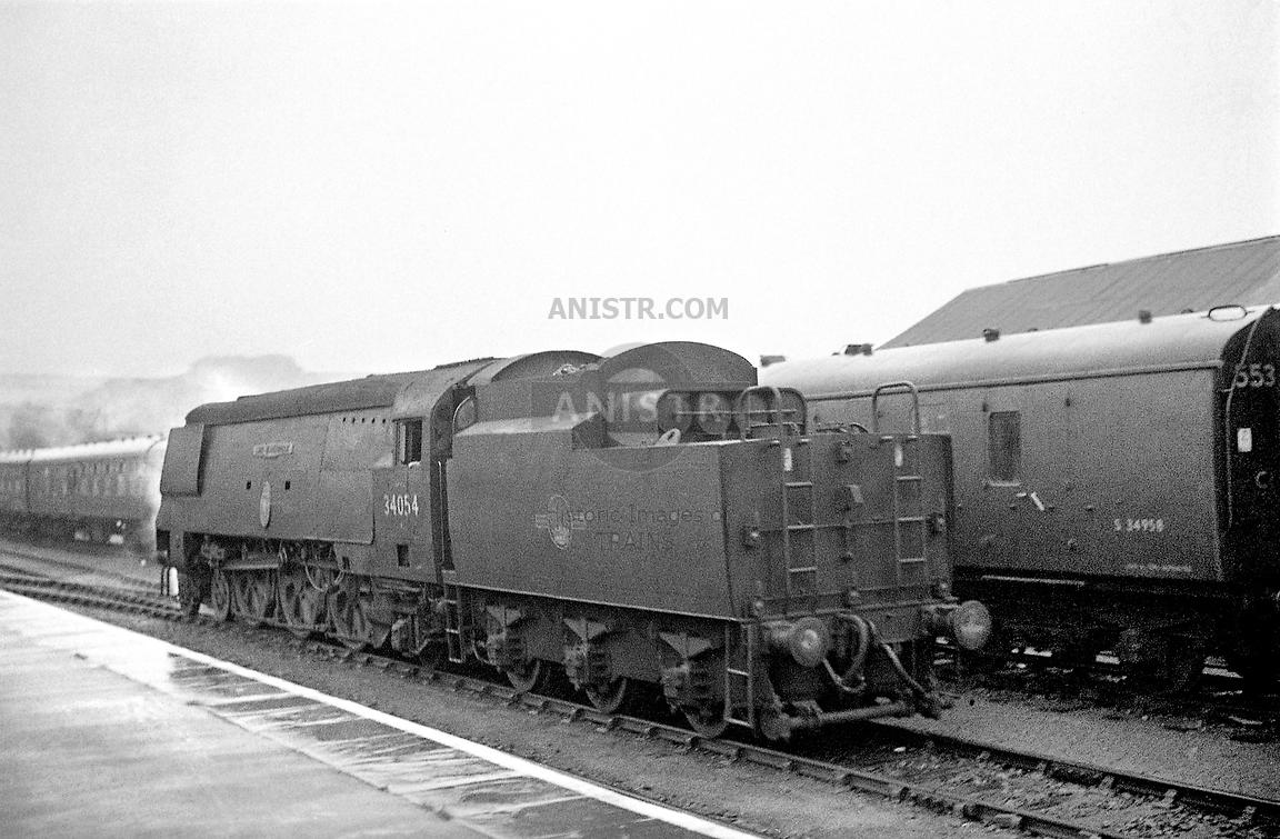 Steam loco BB 34054 Padstow