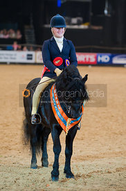 Sarah Challinor and Pumphill Buckthorn, M&M Pony of the Year Championship, Horse of the Year Show 2010