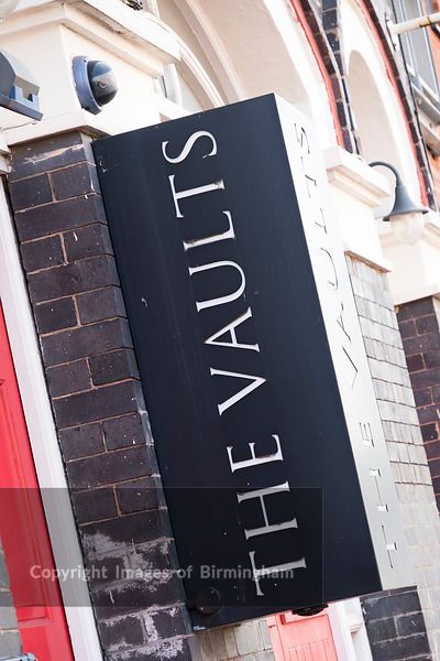 The Vaults pub, Newhall Place, The Jewellery Quarter of Birmingham, England