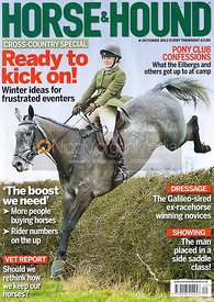Horse & Hound cover photography, 4th October 2012
