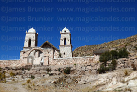 Santa Barbara church, Curahuara de Carangas, Oruro Department, Bolivia