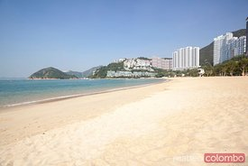 Repulse bay beach in Hong Kong island