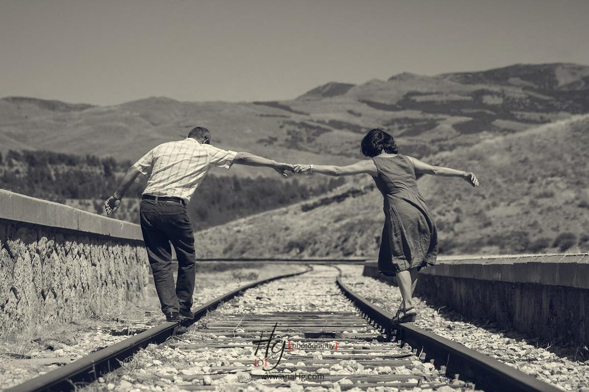 Love is right on tracks