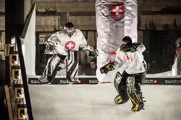 RedBull Crashed Ice photos architecture