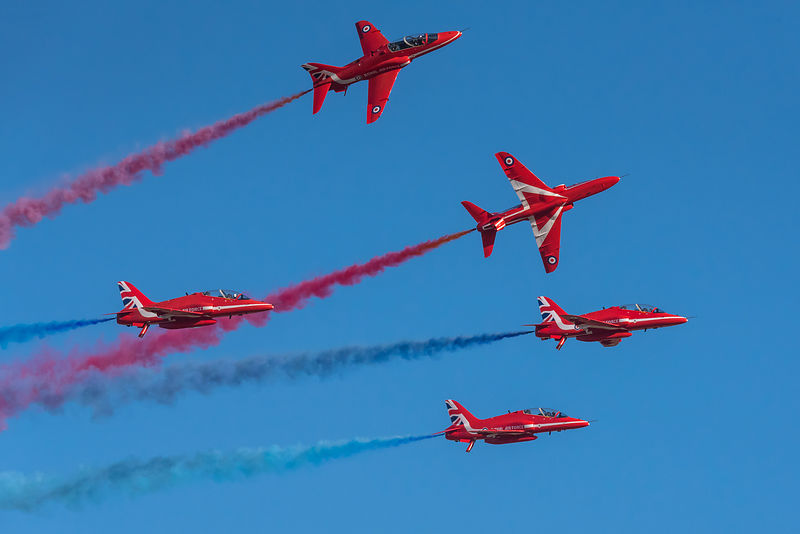 Red Arrows Enid break