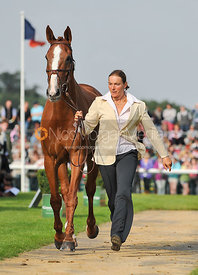 Helene Vattier and Jubal - 2nd Inspection - Burghley 2010