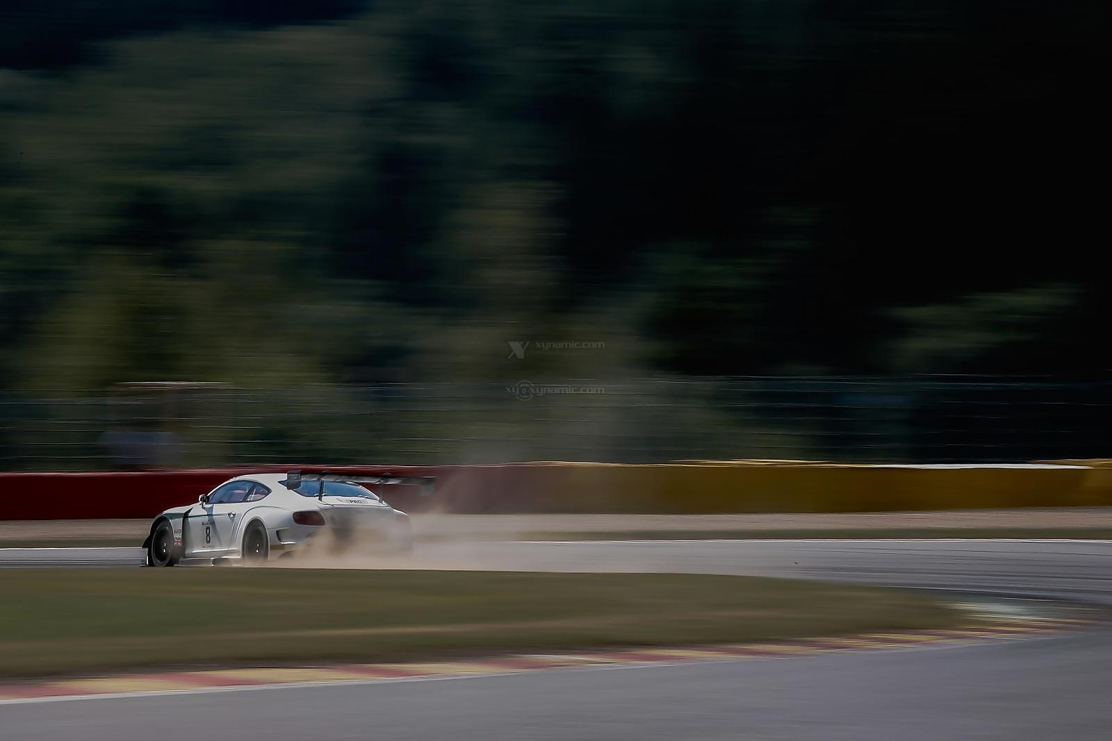 Blancpain Spa 24H Test Day