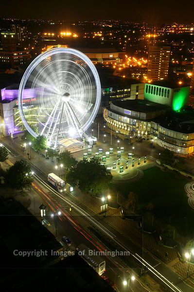 Centenary Square at night