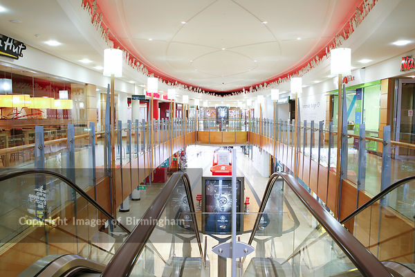 Touchwood shopping centre, solihull, interior