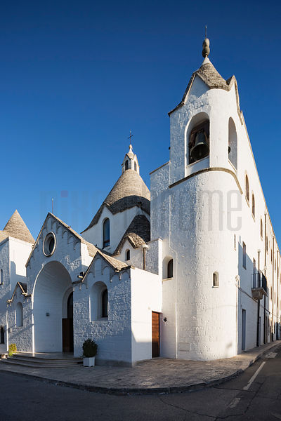 The church of S. Antonio in Alberobello