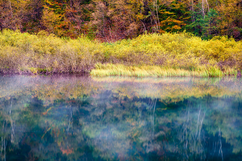 Plitvice Fall Reflections