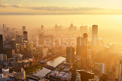 Morning Mist over Southbank