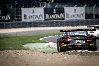13 Frank Stippler / Edward Sandstrom / Christopher Mies Audi R8 LMS Ultra Belgian Audi Club Team WRT