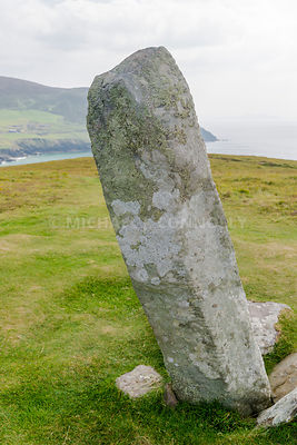Ogham Stone, Dunmore Head- Dingle Peninsula, Ireland